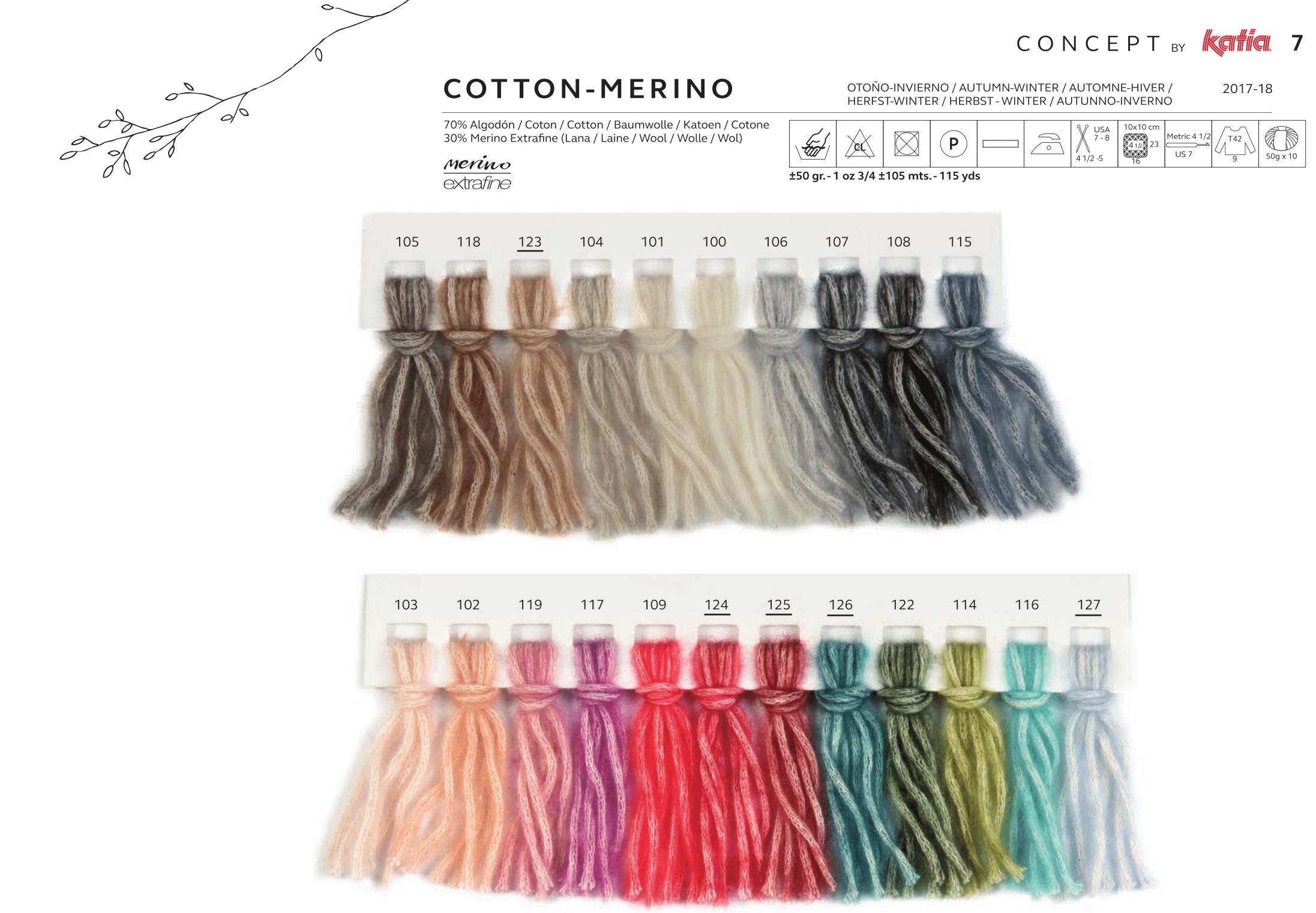 Cotton Merino - lachicadelaslanas