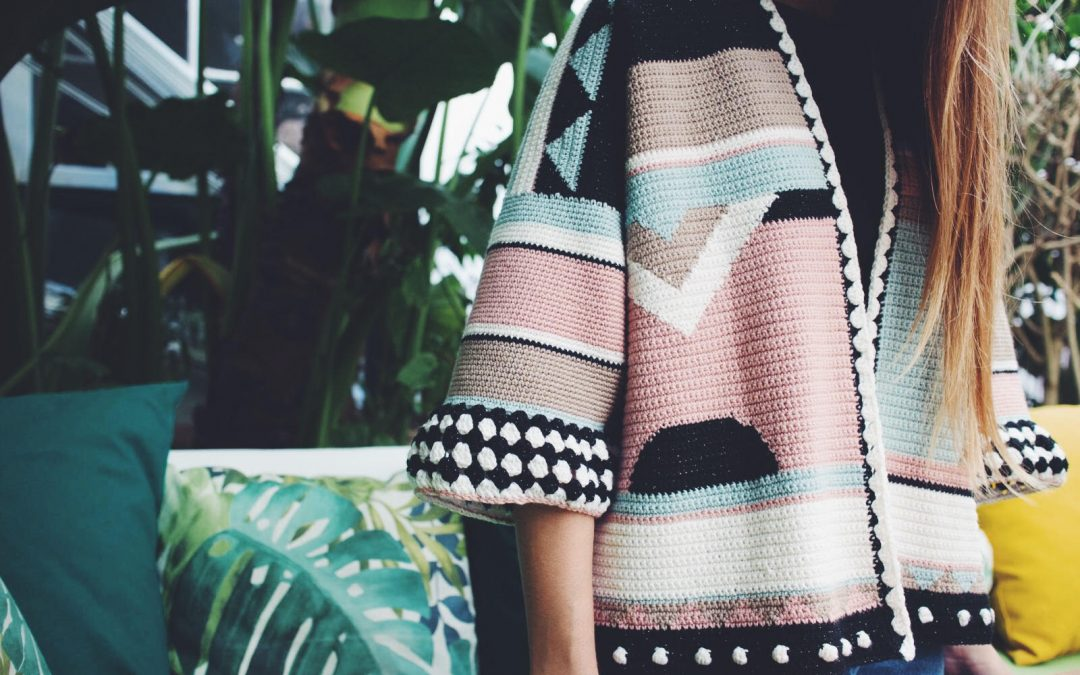 Patrón de ganchillo gratis: Rebeca oversize con Woolly Chic